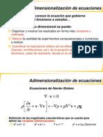 Adimensionalizacion de ecuaciones