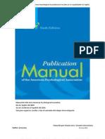 Manual de las normas APA. 6th ed. 2013