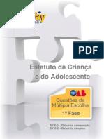 PROVA OAB-Estatuto Crianca e Do Adolescente