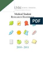 Consolidated Handbook - 2010-2011