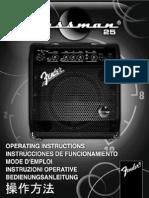 Bassman 25 Manual