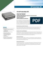 DVG-2001S Datenblatt (deutsch)