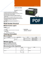 Omron K3MA-L Datasheet