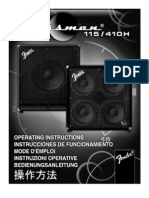 Bassman 115 410H LoudSpkr Enclosures Manual
