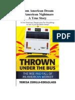 Thrown Under The Bus Interview