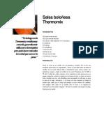 salsa boloñesa thermomix