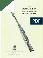 Madsen Lightweight Military Rifle Manual English