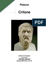 Platone - Critone