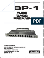 TBP-1 PreAmp Manual