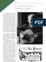 Narciso Yepes, Por Francisco Soriano