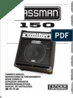 Bassman 150 (2005) Manual