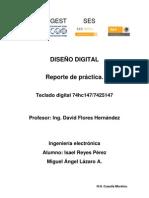 Reporte Practica Teclado