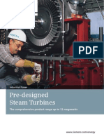 Pre-Designed Steam Turbines En