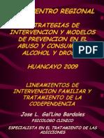 2. Lineamientos de Intervencion Familiar y Tratamiento de La Codependencia - Ps. Gal'Lino