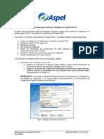 Qué debo hacer para comenzar a trabajar con Aspel-COI 5.7