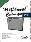 64 Vibroverb Custom Manual