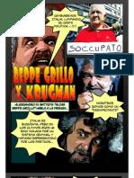 BEPPO GRILLO Y PAUL KRUGMAN