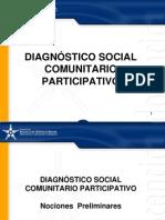 Diagnostico Social Comunitario. Prof. Rosa Di Falco.ppt