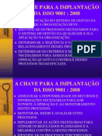 Treinamento as Chaves Para ISO9001_2008