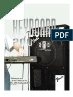 Keyboard 200 SFX Manual