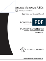 Cardiac Science AED G3 Operation and Service Manual