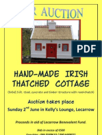 Cottage for auction Poster.