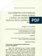 Los Frentes Culturales