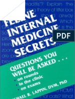 Feline Internal Medicine Secrets (Veterinary).