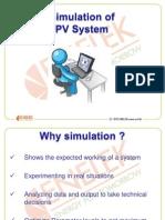 8. Solar PV Simulation
