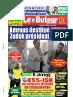 LE BUTEUR PDF du 22/04/2009