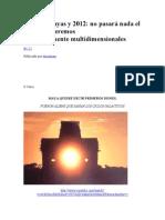 rofecías Mayas y 2012