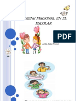 Higiene Personal en El Escolar