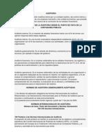 Normas Internacionales de La Auditoria