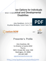 Autism NOW Webinar April 30, 2013