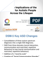 Autistic Self Advocacy Network with Autism NOW May 28, 2013
