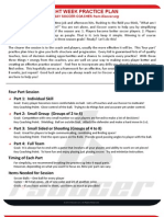 Eight Week Practice Planner for Say Soccer Coaches From Isoccer