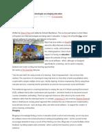Web 2.0 for Educaiton Articles