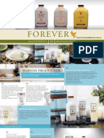 Folleto Forever Living Products 2009