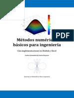 Métodos numéricos básicos para ingeniería