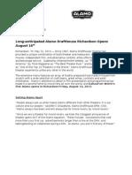 ADR Initial Announcement Fact Sheet -Final