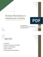 Modelos Matematicos Robos