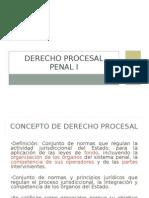 1 Derecho Procesal Penal i.