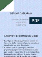 Interprete de Comandos Shell