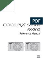 Nikon Coolpix s9300 9200 En