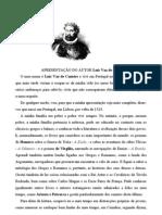 Apres de Luis Vaz de Camões- Txt e Gravação