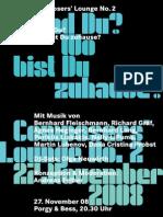 Composers' Lounge 2008 Österreichischer Komponisten Bund - Austrian Composers' Society