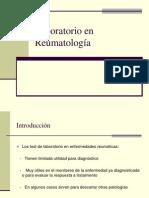 Laboratorio en Reumatología 2013