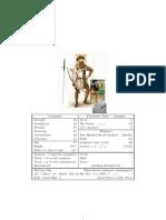 Cannavaro Character Sheet