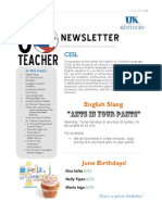 UK Go Teacher Ecuador - June 2013 Newsletter