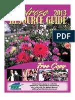 2013 Melrose Resource Guides